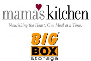 big box storage sponsors mama's kitchen