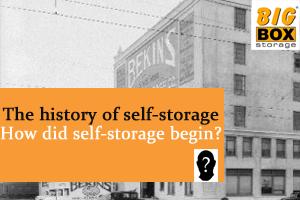 Self Storage History
